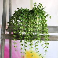 New Hight Quality Plastic Vivid Artificial Plant FLoral Foliage Vine Home Party Office Desk Table Decorative