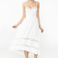 Charmed Lace Dress - White
