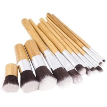 XCSOURCE® 11PCS Professional Makeup Brush Brushes Cosmetic Powder Tool Kit Set With Bag MT52