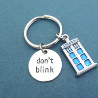 Don't drink, Police, Box, Key chain, Doctor who, Key ring, Birthday, Friends, Lovers, Gift, Accessory