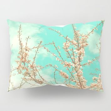 Blossoms Pillow Sham by ARTbyJWP