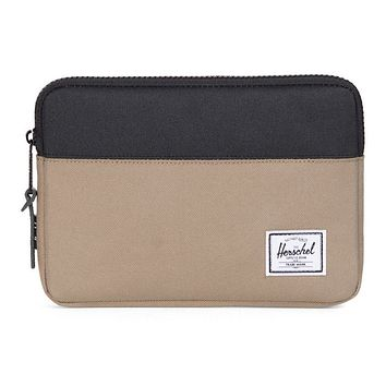 iPad Mini Anchor Sleeve in Lead Green and Black by Herschel Supply Co.