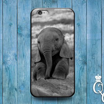 iPhone 4 4s 5 5s 5c 6 6s plus iPod Touch 4th 5th 6th Generation Cute Baby African Africa India Indian Asian Asia Elephant Animal Case Cover