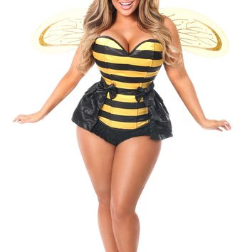 Lavish Premium Queen Bee Corset Costume
