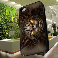 alice madness returns cheshire cat smil for iphone 4/4S/5/5S/5C case, Samsung Galaxy 3/4 case