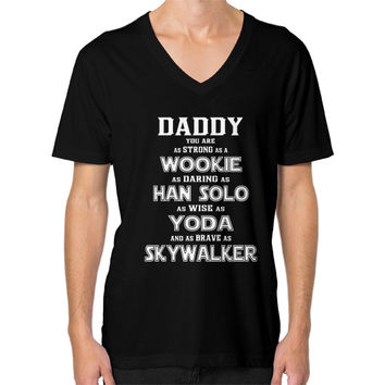 Dad - You Are My Super Star Hero T Shirt Wars - Men's V-neck