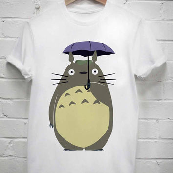 Custom Tshirt my neighbor totoro screenprint