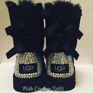 DCCK8X2 Custom Bling UGG boots Adults