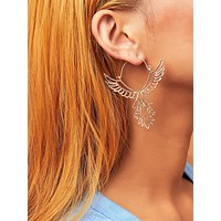 1pair Angel Shaped Earrings