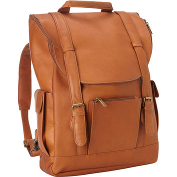 Le Donne Leather Classic Laptop Backpack - eBags.com
