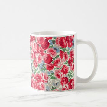 Rose Garden Design Coffee Mug