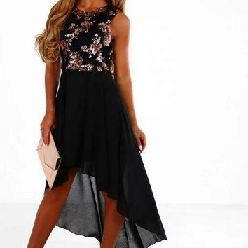 Sequin Floral Woman Club Dress For Woman Sleeveless Beach Summer Dresses Cocktail Party Clothes Ws5503U