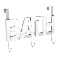 Mirrored Over the Door Hook - Bath