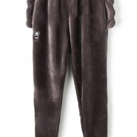 Animal Ear Furry Pants - OASAP.com