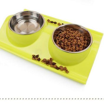Stylish Designs Pet Food and Water Bowls