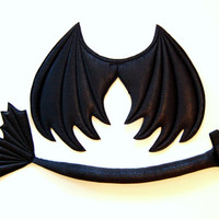 Black Dragon Wings and Tail set, wire free, dragon costume, Halloween costume, kids dress up wings, cosplay, photography prop, Toothless