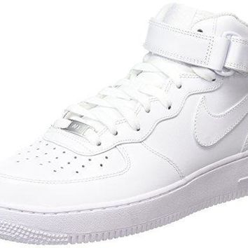 Nike Women's Air Force 1 Mid '07 LE Basketball Shoe air force ones nike
