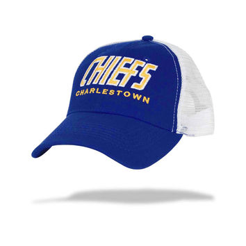 *Slapshot* Charlestown Chiefs Old Time Hockey Mesh Back Cap