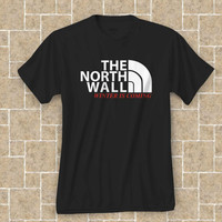 THE NORTH WALL - funny hip retro cool tv show winter is coming swag party game of thrones college new tee shirt t shirt