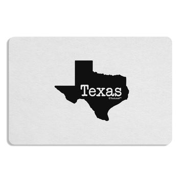 Texas - United States Shape Placemat by TooLoud