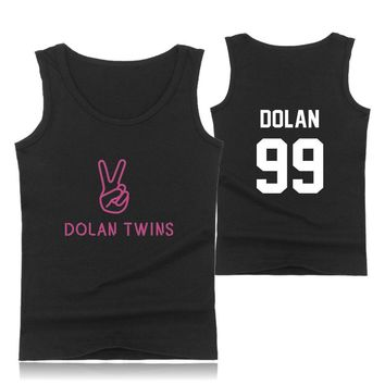 Dolan Twin T-Shirts Summer Hipster Collage Casual T-Shirt Funny Cool And Fashion Printed Tank Top Men/women T Shirt Big Size 4XL