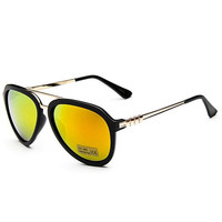 Big Frame Sunglasses with Alloy