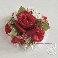 Rose Flower Hair Accessories