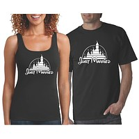 Just Married Shirts | Matching Couples T Shirt