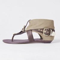 URGE Zion Khaki/Chocolate