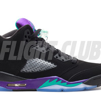 "air jordan 5 retro (gs) ""black grape"" - Air Jordan 5 - Air Jordans 