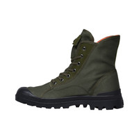 PALLADIUM PAMPA M65 HI ARMY GREEN/BLACK FLAME