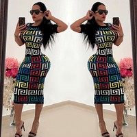 Versace WomenShort Sleeve Dress
