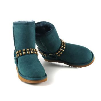 Ugg Boots Cyber Monday 2016 New Arrival 9819 Dark green For Women 98 72