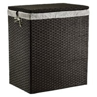 Threshold™ Paper Rope Hamper - Dark Brown