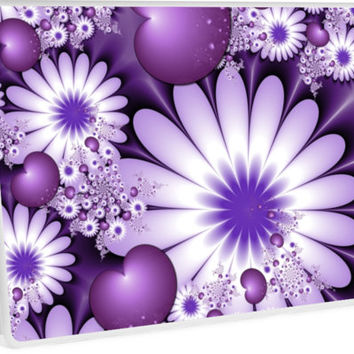 'Falling in Love Fantasy Fractal Art' Laptop Skin by gabiwArt