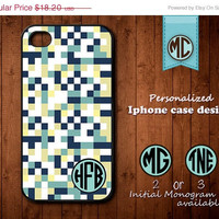 20% OFF SALE Personalized iPhone 4 Case - Plastic iPhone case - Rubber iPhone case - Monogram iPhone case - iPhone 4s case - K099