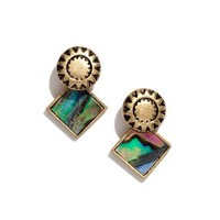 Seastone Earrings - AllProducts - Sale - Madewell