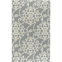 Area Rug - 2' X 3' - Colors Include Silvery Gray