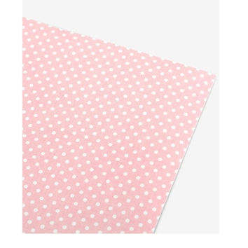 Deco fabric sticker 1 sheet A4 size - Mellow dot