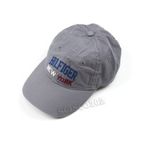Tommy Hilfiger Baseball Hat Cap Gray Hilfiger New York