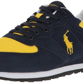 Polo Ralph Lauren Men's Slaton Pony Fashion Sneaker Navy/Blue 10 D(M) US '