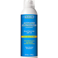 Kiehl's Since 1851 Activated Sun Protector Spray Lotion for Body SPF 3