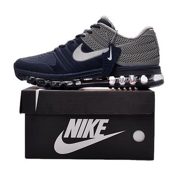 """Nike Air Max"" Men Sport Casual Multicolor Air Cushion Sneakers Running Shoes"