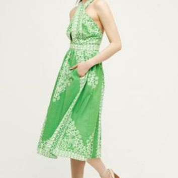 Plenty by Tracy Reese Ferula Petite Dress in Green Size: