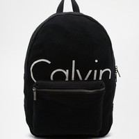 Calvin Klein | Calvin Klein Jersey Backpack at ASOS