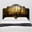 Paul Moore's Abandoned Home in Elkmont Headboard wall decal