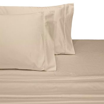 Califronia King LINEN 300 Thread count Solid 100-Percent Combed cotton