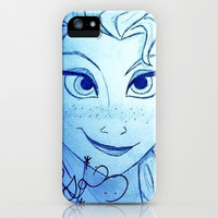 Snow Queen iPhone & iPod Case by Sean Derbyshire