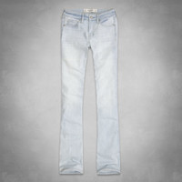 Mid Rise Boot Jeans