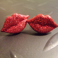 Rocky Horror Red Hot Kisses Earrings